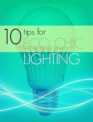 10 Eco Chic light cover
